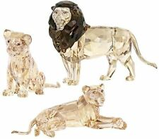 Swarovski  SCS Lion Akili  +   Mother Lion   +  lion cub       New    2016