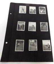 9 Vintage Tiny Photos Circus Animals on Parade & at Field Toledo Oh