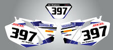 Yamaha WR 450 F 2003 - 2006 Custom number Plates Storm graphics / stickers