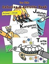 [ Two YEHs ] Coloring and Activity Book - Animal 2 : English - Hindi by...