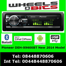 Pioneer DEH-X9600BT auto CD MP3 2 X USB SD Stereo iPod iPhone Android Bluetooth