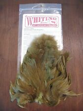 Fly Tying Whiting Rooster Soft Hackle w/Chickabou Dark Olive #B