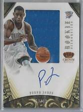 2012-13 PREFERRED SILHOUETTES PERRY JONES RC AUTO JERSEY 39/99!!
