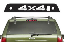 Vinyl Decal 3rd Brake Light 4X4 Wrap Kit for Jeep Grand Cherokee 05-10 Black