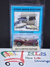 Stew's Super Kustoms 1994 Hot wheels '58 Corvette (1:64 Scale) Limited Edition
