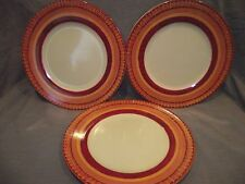 Set of 3 Pier 1 Elizabeth Dinner Plates