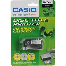 5 pk Casio TR-18BK Black Ribbon Cassettes for CW-50 / 75 / 100 / CWL-300