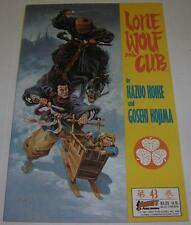 LONE WOLF AND CUB #43 (First Comics 1991) 2nd to last issue (FN/VF) Ploog cover