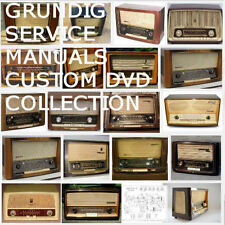 Grundig Radio Service Manuals Schematics Owners Huge Mega Collection PDF DVD