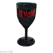 VENOM Halloween BLACK GOTHIC GOBLET Voodoo Prop Costume Party Cup Cocktail Glass
