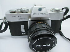 Canon Bell & Howell Auto 35 / Reflex QL SLR Film camera Canon Lens EX 50 1.8