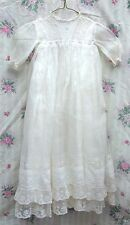 Antique Christening Gown and slip