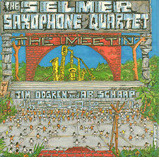 SELMER SAXOPHONE QUARTET (AB SCHAAP) - THE MEETIN' (DUTCH JAZZ CD)