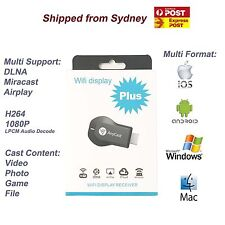 AnyCast Dongle Display Wifi 1080P DLNA M2 Plus HDMI TV Reciver Airplay Miracast
