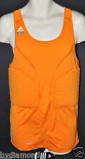~Adidas Pad Tank top Techfit Orange 3XT 3XL Tall basketball New padded shirt $70