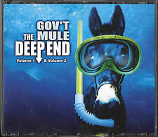 GOV`T MULE The Deep End Volume 1 & 2/ 3 CD BIG BOX Warren Haynes Allman Brothers
