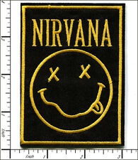 "10 Pcs Embroidered Iron on patches NIRVANA Music Band 2.83""x3.78"" AP056rA"