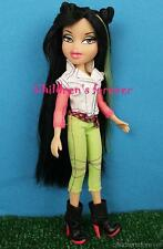MGA Bratz Neon Runway Jade Doll Dressed W Fashion Outfit & Shoes Long Brown Hair