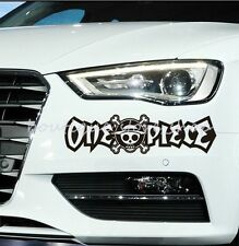 """ONE PIECE"" eyelid Cartoon Warnung Auto Aufkleber Abziehbilder car sticker decal"