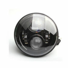 "COPPIA FARI LED Land Rover Defender Nero 7"" RHD"