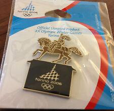 Torino Bronze Horse Torino 2006 Olympic Pin