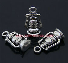 P957 10pc Tibetan Silver lamp Charm Beads Pendant accessories wholesale