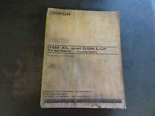 Caterpillar CAT D5M XL and D5M LGP Tractors Parts Manual  XEBP7389-02