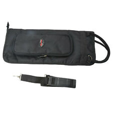 Drum Stick Bag Percussion bag Sponge-padded for Rod, Mallets & Drum Sticks Black