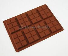 8 cell 6 Section Chocolate Bar 35g Candy Professional Silicone Mould Mold N076