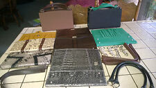 HUGE Lot of Miche Classic 2 Bags, 7  Shells, Handles, rings chains