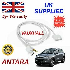 Vauxhall Antra Series Para Apple Iphone 3gs 4 4s Ipod Carga & Play Blanco