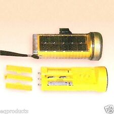 New Solar Flashlight & AA Battery Charger! Also Bicycle Headlight or Tail Light