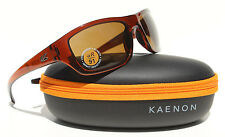 KAENON Kanvas Sunglasses Tobacco/B12 Bronze/Brown NEW 020-02-B12NP