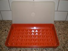 Vintage Tupperware 1292-6 Cold Cuts Hot Dogs Container Bacon Keeper Marinade
