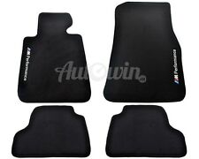 BMW M4 Series F82 Winter Floor Mats With Rubber Background ///M Performance LHD