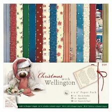 """Do-crafts 6 x 6"""" Paper Pack (32pk) - Wellington - Christmas for cards or crafts"""