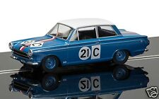 C3670 Scalextric SLOT CAR FORD CORTINA GT 1964 Bathurst Ian & LEO geoghegan NUOVO