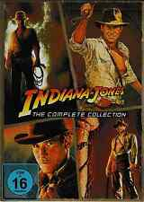 5 DVDs *  INDIANA JONES - THE COMPLETE COLLECTION - Harrison Ford  # NEU OVP
