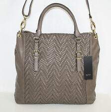 ESPRIT COLLECTION Tasche Henkeltasche KARLA Tote Bag K15063 taupe *UVP 89,95€