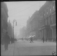 Glass Magic Lantern Slide BUCHANAN STREET GLASGOW EXHIBITION 1901 PHOTO