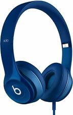 Beats Solo 2 WIRED BLUE On Ear Headphones Beats By Dr. Dre (PL1-MHBJ2AMA-UG)