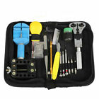 Portable 144Pcs Watch Watchmaker Repair Tools Kit Case Opener Remover Bar Set