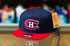American Needle Montreal Canadiens Navy/Red Snapback Hat