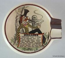 CARLTON WARE In Memory or Sam DREAMER Motto ASHTRAY