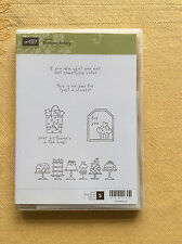 Stampin Up...BIRTHDAY BAKERY Clear NEW!  Rubber Stamp