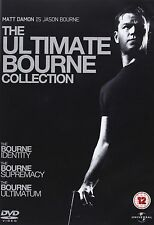 The Bourne Identity/The Bourne Supremacy/The Bourne Ultimatum NEW & UK R2 DVD