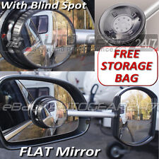 Suck-it Suction Caravan Flat Glass Towing Extension Wing Mirror with Blind Spot