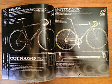 Trialtir Colnago Dealer 2007 Color 52pg Catalog Biemme LAS Road Track Cyclocross