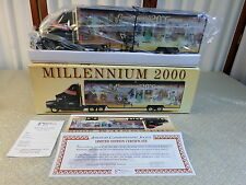 NIB-Millennium 2000 Battery Operated Limited Edition Numbered Truck/Tractor
