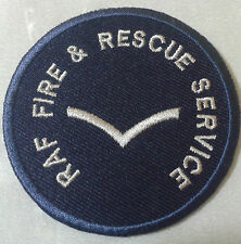 Royal Air Force Fire & Rescue Service Ranks Patch no-620